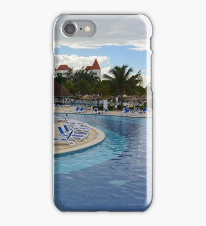 Pool Resort iPhone Case/Skin