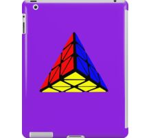 Pyraminx cude painting iPad Case/Skin