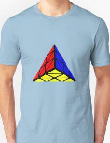 Pyraminx cude painting Unisex T-Shirt