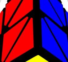 Pyraminx cude painting Sticker