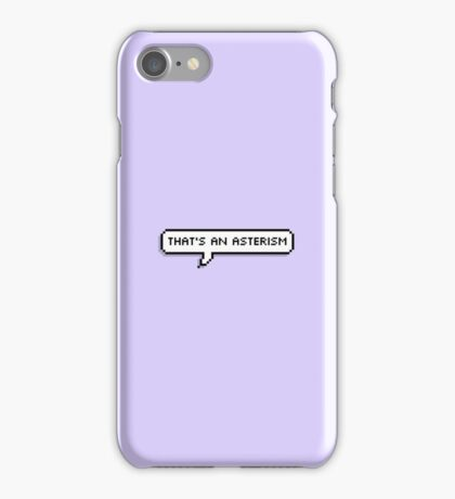 not a constellation iPhone Case/Skin