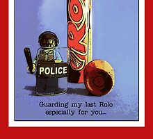 Guarding my last rolo for you.... by TimConstable