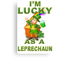 The Luck Of The Irish Canvas Print