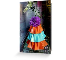 Skirting The Issue Greeting Card