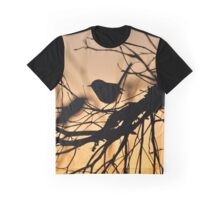 Silhouette Bird Graphic T-Shirt