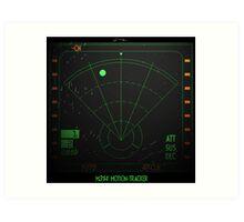 Motion Tracker - Alien Isolation Art Print