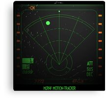 Motion Tracker - Alien Isolation Canvas Print