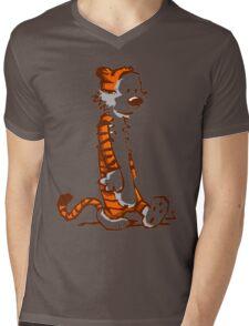 Tigerman Mens V-Neck T-Shirt