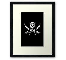 Pirate Service Announcement Framed Print