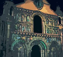 "Notre dame like you've never seen...  7 (t) as paint "" Picasso ""! olao-olavia  okaio Créations by Okaio - Olivier Caillaud"
