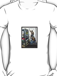 Government listening post by Banksy! T-Shirt