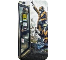 Government listening post by Banksy! iPhone Case/Skin