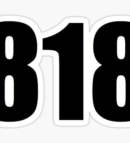 818 Sticker