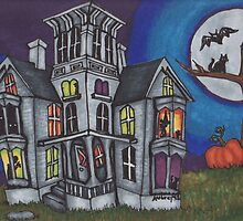 Halloween Haunted House by FedericoArts