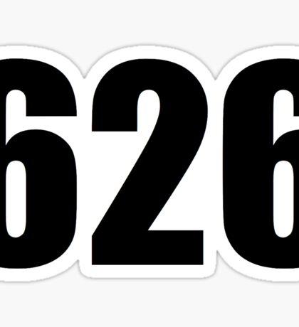 626 Sticker