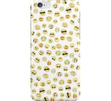 Hand Drawn Emoji Pattern iPhone Case/Skin