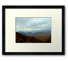 A Patch Of Light Framed Print