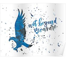 House Eagle Wit Beyond Measure Watercolor Poster