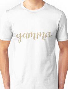 gamma gold Unisex T-Shirt