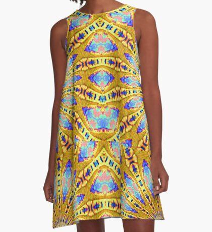 Charleston colors XI A-Line Dress