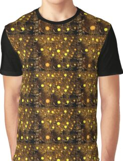 Yellow Chandelier Graphic T-Shirt
