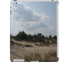 Sand dunes with a tree iPad Case/Skin