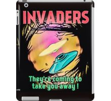THE INVADERS iPad Case/Skin