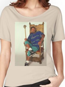 Fresh Prince of Bel-Air on Throne Women's Relaxed Fit T-Shirt