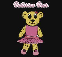 Ballerina Bear Baby Tee