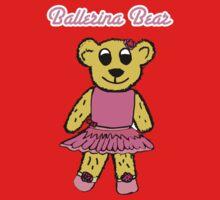 Ballerina Bear One Piece - Long Sleeve