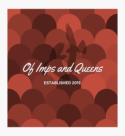 Of Imps and Queens - Falcons Photographic Print