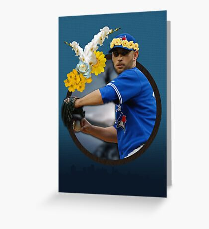 Marco Estrada: Flower Crown Greeting Card
