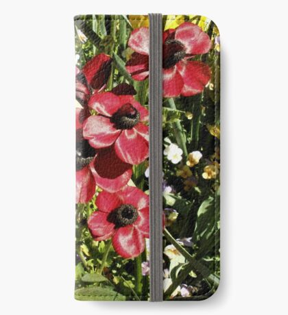 Floriade Flowers iPhone Wallet/Case/Skin