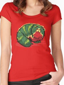 [FruitCats] Watermelon Women's Fitted Scoop T-Shirt