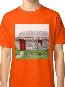 Canny's Cottage, Donegal, Ireland Classic T-Shirt