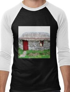 Canny's Cottage, Donegal, Ireland Men's Baseball ¾ T-Shirt