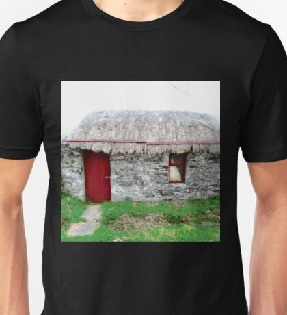 Canny's Cottage, Donegal, Ireland Unisex T-Shirt