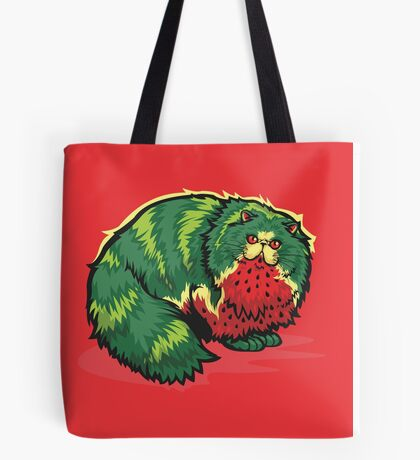 [FruitCats] Watermelon Tote Bag