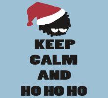Keep calm and ho ho ho by cheeckymonkey