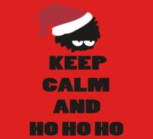 Keep calm and ho ho ho Kids Tee