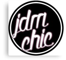 Jdm Chic Canvas Print