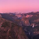 Glacier point at sunset by Hotaik  Sung