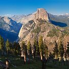 Yosemite valley from panorama trail by Hotaik  Sung