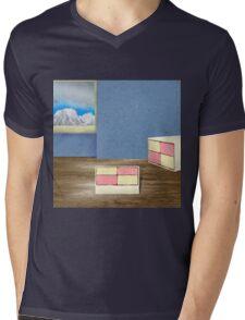 battenberg anyone? Mens V-Neck T-Shirt