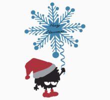 Merry Christmas little santa by cheeckymonkey