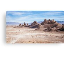 Lost in Trona pinnacles Canvas Print