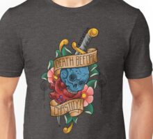 Death Before Chastity Unisex T-Shirt