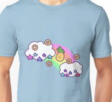 Rainbow Cloud Pineapple  Unisex T-Shirt