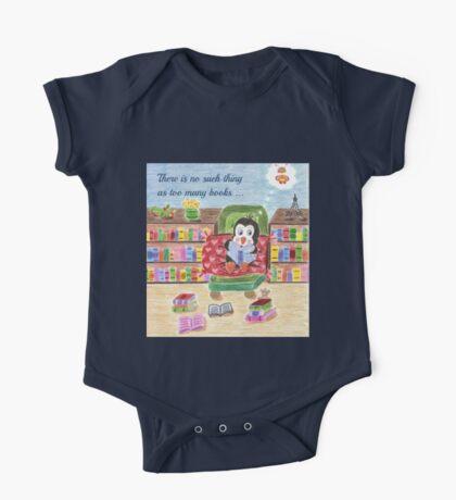Smart Reading Penguin One Piece - Short Sleeve