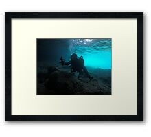 Scuba diving#24 Framed Print